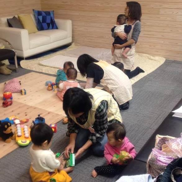【公共施設別室託児】就労支援施設託児付き講座 別室託児ルーム運営