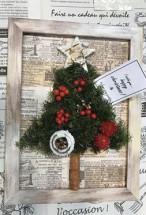 【ワークショップ】enjoy FRAME~額を楽しむワークショップ~『額の中にクリスマスツリーをつくろう』