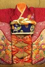 【縫製】市松人形用着物リメイク